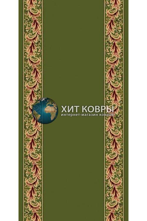 ковер в комнату кремлевский d044 зеленый