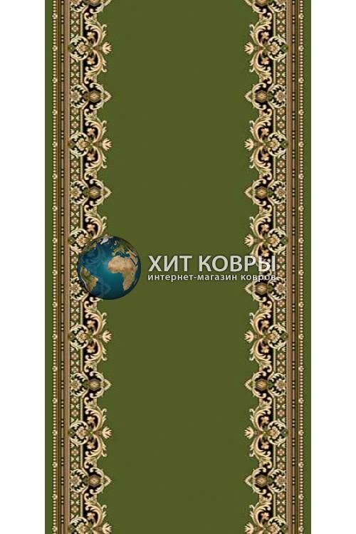 ковер в комнату кремлевский d165 зеленый