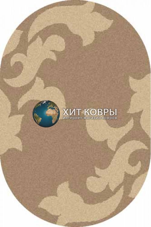 Российский ковер  овальный Platinum t620 d