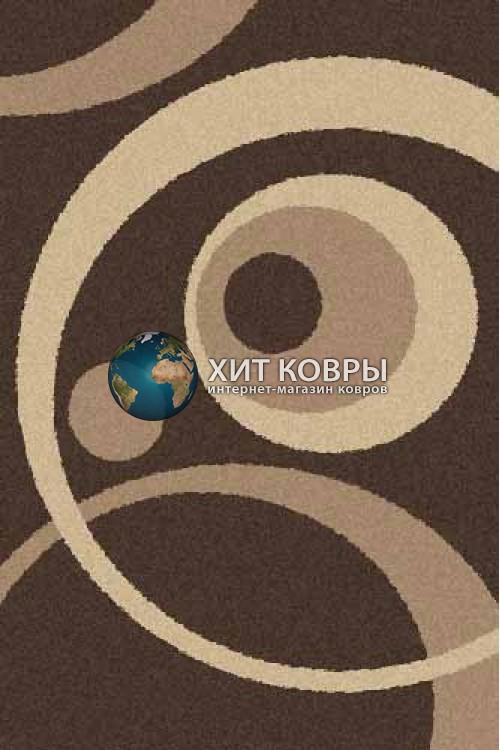 Российский ковер прямоугольный Platinum t151 коричневый